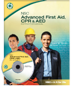 NSC Advanced First Aid, CPR & AED Student Textbook
