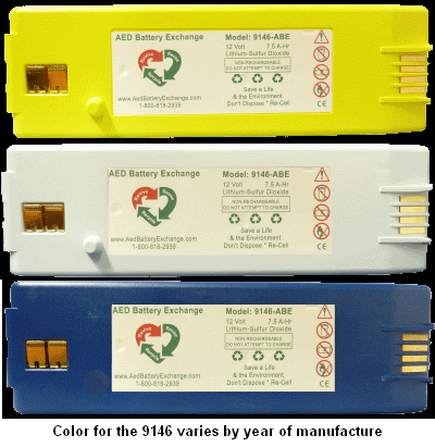ABE-Cardiac Science 9146 AED Battery