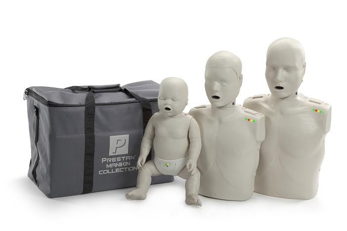 Prestan Professional Collection CPR-AED Training Manikins (with monitor)