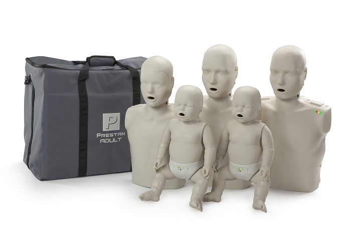 Prestan Professional Family Pack CPR-AED Training Manikins (with monitor)